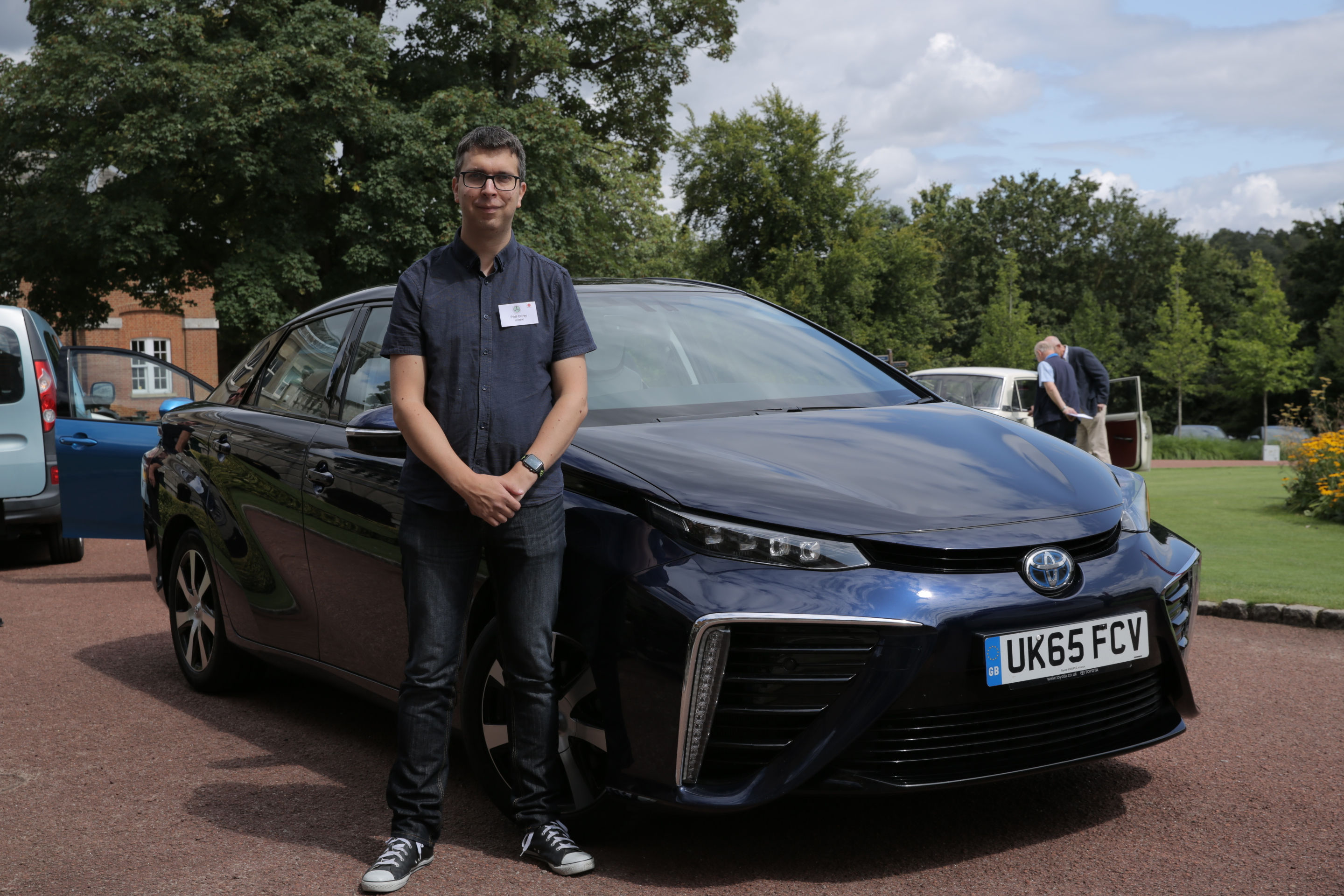 Phil Curry and Toyota Mirai