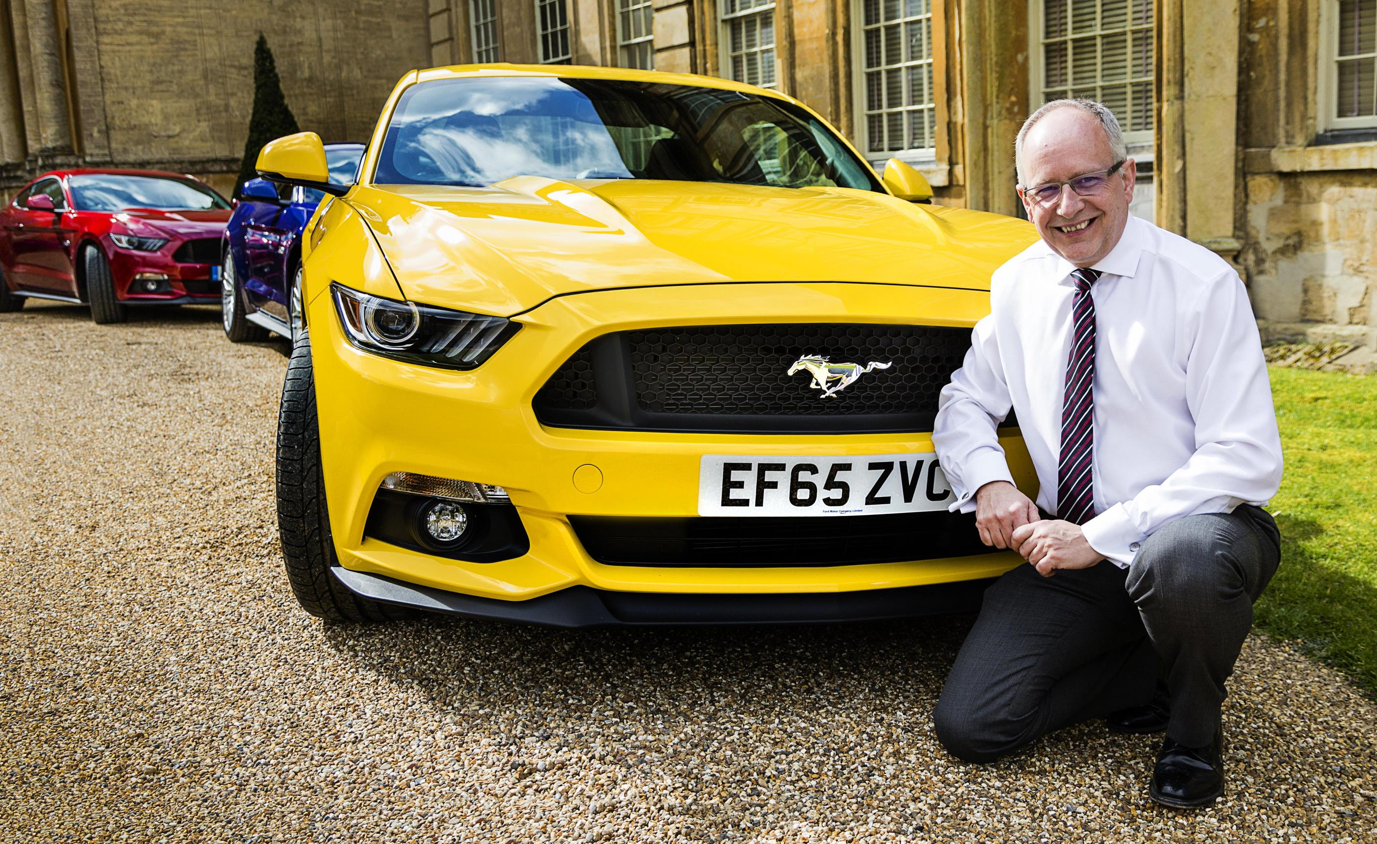 Andy Barratt MD and Chairman Ford of Britain