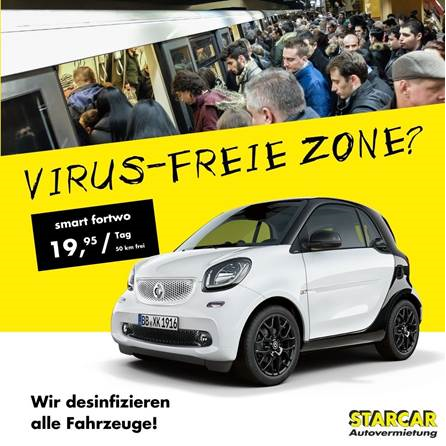 Starcar advertising campaign