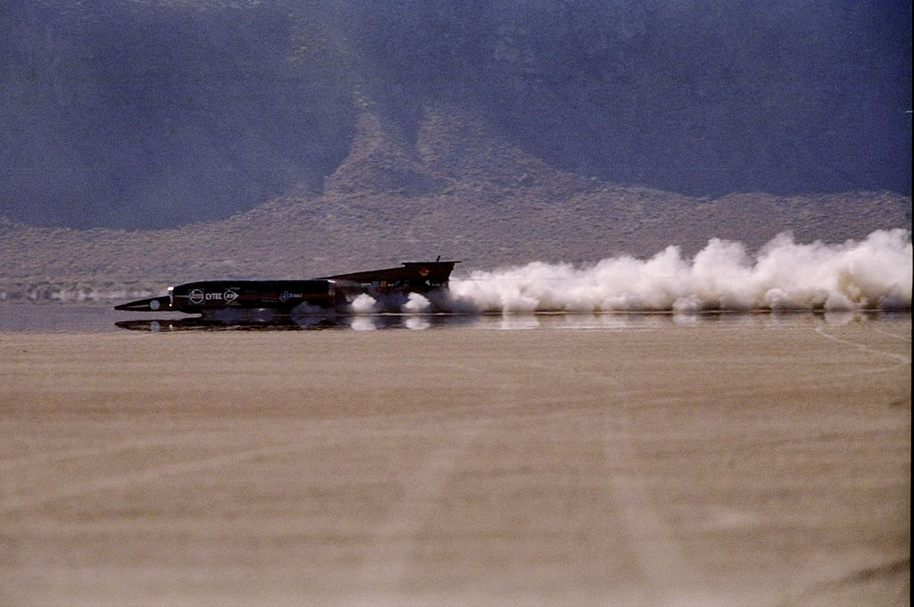 Thrust SSC - Current record holder